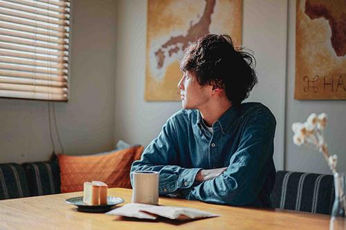 「朝焼けを見ながら1日のはじまりに」のコーヒーが届いたから・・